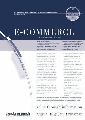 E-COMMERCE - trend:research