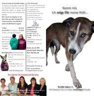 Flyer August 2011 lesen / laden - Tierhilfe Süden eV