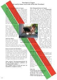 Tierschutz in Ungarn - Tierhilfe Süden eV