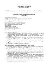 Regolamento per la disciplina dell'imposta municipale propria (IMU)