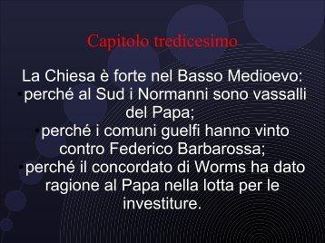 """Capitolo tredicesimo - Scuola Media Statale """"Luigi Majno"""""""