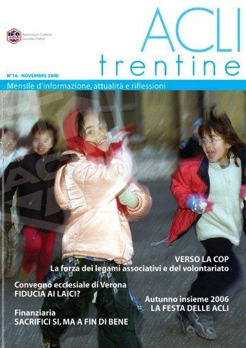 novembre 2006 esec.indd - ACLI Trentine