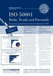 Der Markt für Energie- managementsysteme bis 2020 - trend:research