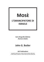 Mosè - Casa Editrice HILKIA