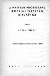 XIV. Budapest 1930. - Magyar Evangélikus Digitális Tár (MEDiT)