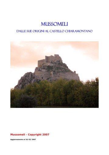 Ricerche su Mussomeli - Mussomeli Live