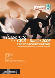 Rapporto - Sefap