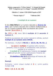multipli e divisori - Icsangiorgiodelsannio.Gov.It