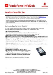 InfoDok 581: Vodafone SuperFlat live!