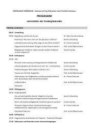Detailliertes Programm hier - Tierklinik Hochmoor