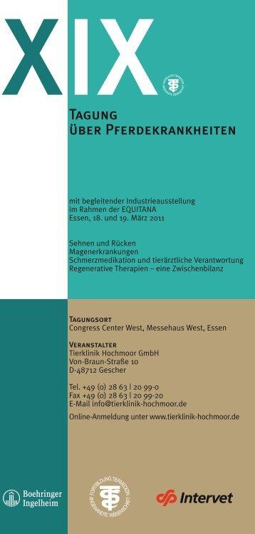 Leporello ND_RZ1 20.1.11.indd - Tierklinik Hochmoor