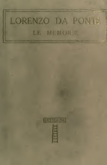 Le Memorie;
