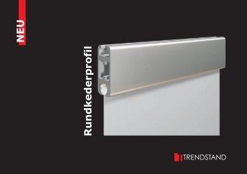 Rundkederprofil - Trendstand Exhibition Systems