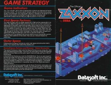 zaxxon-manual