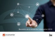 Baromètre de la société de l'information (2012)
