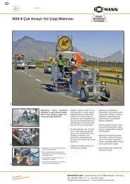 H33-3 Çok Amaçlı Yol Çizgi Makinası - Hofmann