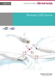 Renesas USB Device - Glyn