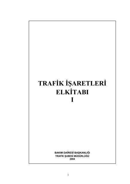 Trafik Isaretleri El Kitabi Otoefe Net