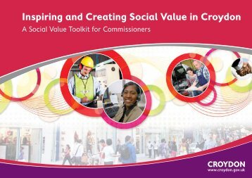 Inspiring and Creating Social Value in Croydon