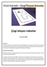 Hobi Robotik Çizgi İzleyen Robotlar - Temel elektronik