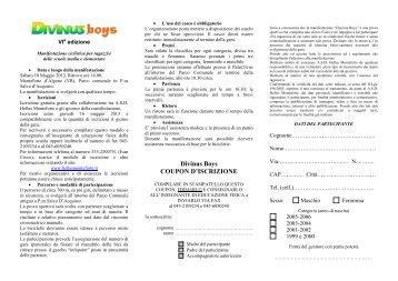 volantino - Hellas Monteforte