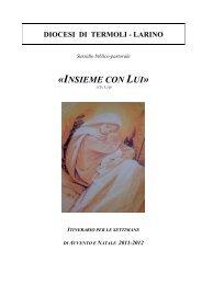 lectio - avvento e natale 2011-2012 - Diocesi di Termoli - Larino