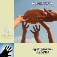 Copertina libretto vocazionale 2009-2010.indd - Diocesi di Brescia