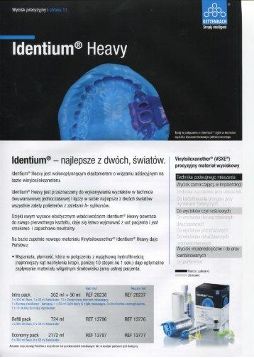 Identium® Heavy - kettenbach.pl
