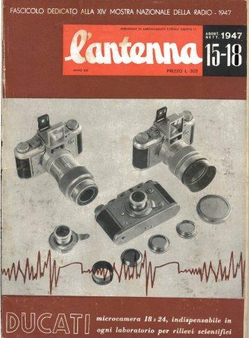 L'antenna 1947 - Italy