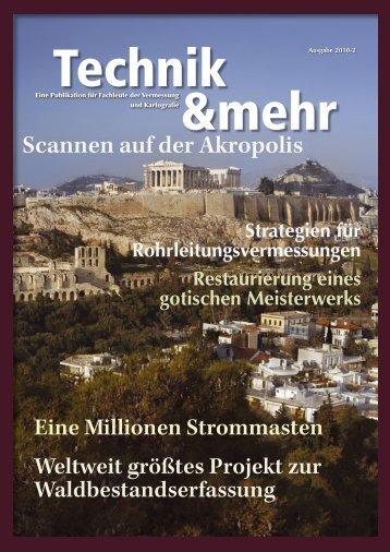 Scannen auf der Akropolis - Trimble