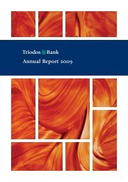 TlB Annual Report 2009 - Triodos Bank
