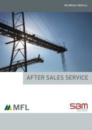 Brochure after sales service - Viamedia