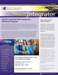 ntegrator - Electrical Engineering - University of Washington
