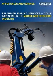 AFTER SALES AND SERVICE PALFINGER mARINE SERVICES ...