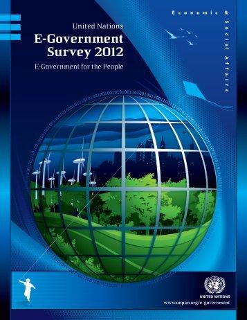 E-Government Survey 2012