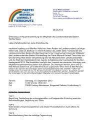 28.08.2012 Einladung zur Hauptversammlung der Mitglieder des ...