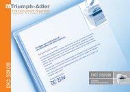 DC 2316 - TA Triumph-Adler GmbH
