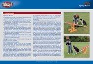Trainingsanleitung für Dog Activity Agility Wippe Art. 3213 - Trixie