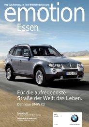 emotion Ausgabe 3/2006 (PDF, 1432k) - BMW AG, Niederlassung ...
