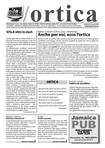 ORTICA 2005-zero.pdf - SITe.it