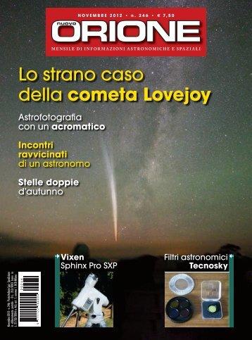 Lo strano caso della cometa Lovejoy