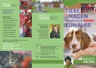 Flyer Tierheim 2 Print - Tierschutzverein Hagen