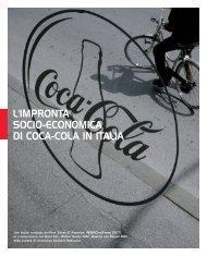 L'IMPRONTA SOCIO-ECONOMICA DI COCA-COLA IN ITALIA