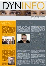 EDITORIAL SILMO - Dynoptic Partner AG