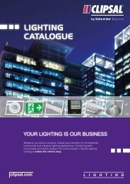 Product Data Sheet - 2011 Clipsal Lighting Catalogue, 22326