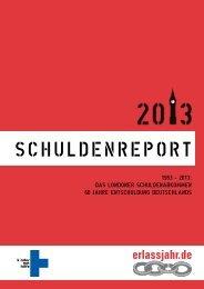 Schuldenreport 2013 - Erlassjahr.de