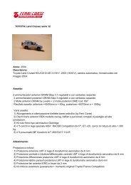 Scarica la scheda in pdf - Ferricorse