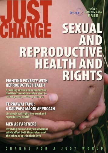 Sexual Reproductive Health and Rights - Global Focus Aotearoa