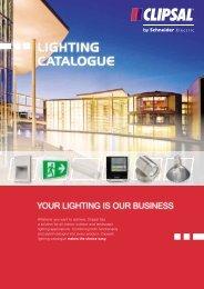 Clipsal Lighting Catalogue, 21164 - Glrsolutions.com.au