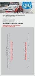 Anmeldeflyer Historisches LKW-Treffen & Parade ... - Truck Grand Prix